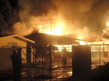 Formalización del autor del incendio del Liceo C-14