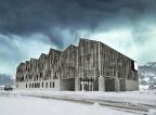 Proyectos para edificio Consistorial de Lonquimay