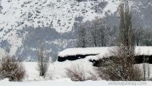 Nieve en el camino a la Villa 2000