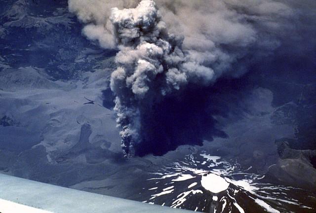 Volcán Lonquimay, a 25 años de la erupción.