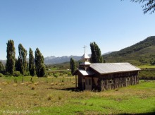 Capilla abandonada, Mitrauquén Bajo