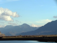 Laguna San Pedro, vista hacia Lonquimay