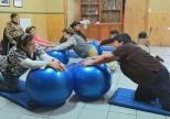 Ejercicios con pelotas de pilates
