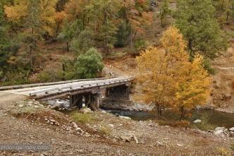Puente río Llanquén