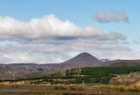 Vista a Cerro Redondo desde Tucapel