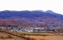 Vista de Lonquimay en otoño