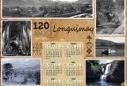 Calendario conmemorativo Lonquimay  120 años